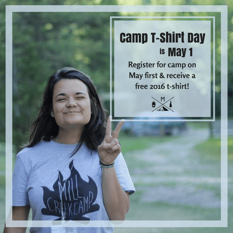 Camp T-Shirt Day